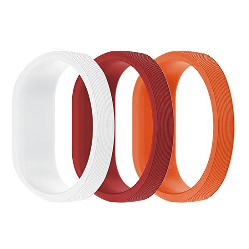 SUPORE Kompatibel Garmin Vivofit 3 / Vivofit JR Armband - Silikon Ersatzbänder Armband Zubehör Verstellbares Weiches Bracelet Sport Armband für Garmin Vivofit JR Uhr für Kinder und Erwachsene