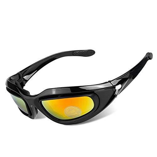 LIJJY Radfahren Motorrad Brille, Motorrad Windschutzscheibe, Motocross-Brille