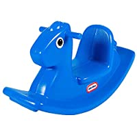 ‏‪Little Tikes Ride On Rocking Horse - Blue, 167200072‬‏