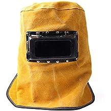 LAIABOR Máscara Careta para Soldar Gorra De Soldadura con Seguro De Trabajo Montado En La Cabeza