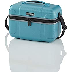 "Travelite Beautycase ""Vector"" in turquoise Vanity, 36 cm, 20 liters"