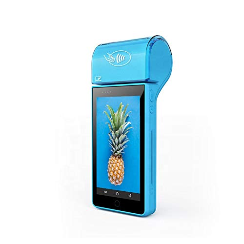 JEPOD Android OS Handheld 5,5 Zoll Touchscreen Pos System 1d 2D Barcode Scanner mit integriertem Drucker Thermodrucker JP-V6