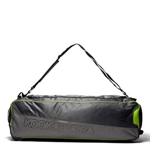 KOOKABURRA 2000 Wheelie Cricket Kit Tasche, Grau, Einheitsgrße