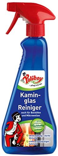 Poliboy - Kaminglas Reiniger - auch für Backöfen, Mikrowellen und Dunstabzugshauben - Sprühmatic 375 ml (Mikrowellen-reiniger)