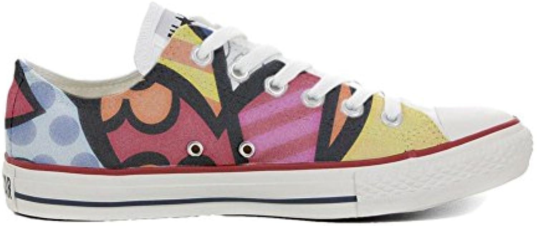 Converse All Star Customized - Zapatos Personalizados (Producto Artesano) Slim Colors  -