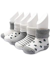 Ateid Baby Socken Frottee Gefüttert 5er-Pack