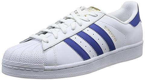 adidas Originals Superstar Foundation B27141, Unisex-Erwachsene Low-Top Sneaker, Weiß (Ftwr