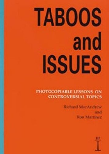 Taboos and Issues: Photocopiable Lessons on Controversial Topics (LTP Instant Lessons)