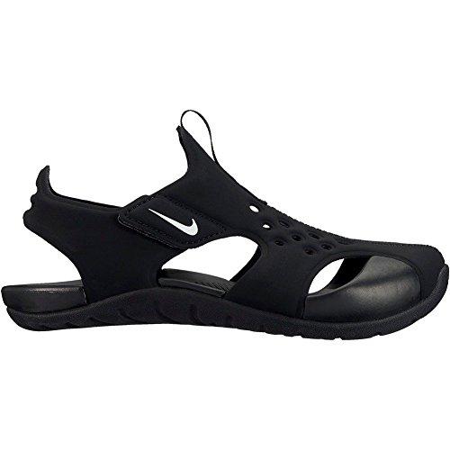 Nike Sunray Protect 2 (PS), Sandlai Sportivi Bambino, Nero (Black/White 001), 35 EU