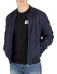 Acolchada De Azul Hombre Calvin Klein Jeans Chaqueta Bombardero nOwqOYAPTx