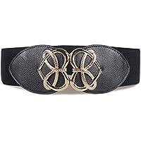JIER Cinturón elástico Vintage para Vestidos, Cintura Ancha, para Mujer