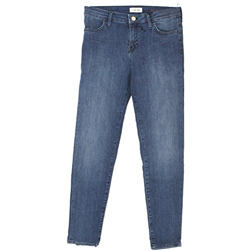 rich & royal Skinny, Damen Jeans Hose, Superstretch, blue used, W 28 L 32 [19901] (Rich Und Skinny Jeans)