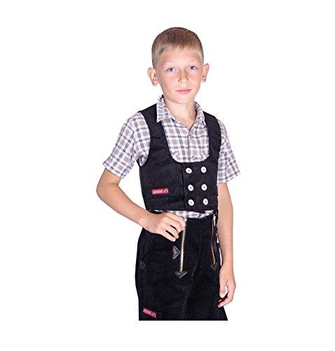 este Lina Trenkerkord, Größe 152, schwarz (Jungen Cord-blazer)