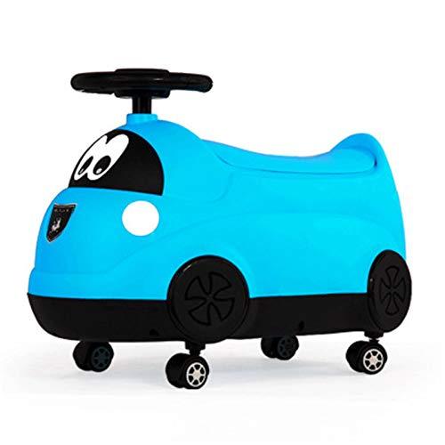 (JJLESUN3 Babytopf 23 * 28 * 46 cm Wc Urinals Junge Mädchen 2 In1 Außerhalb Reise Für Kleinkind Multifunktionale Kreativität Auto Spielzeug Potty Flaschen)