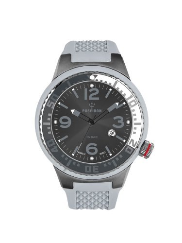 Kienzle Unisex-Armbanduhr POSEIDON S Analog Quarz Silikon K2103055123-00423