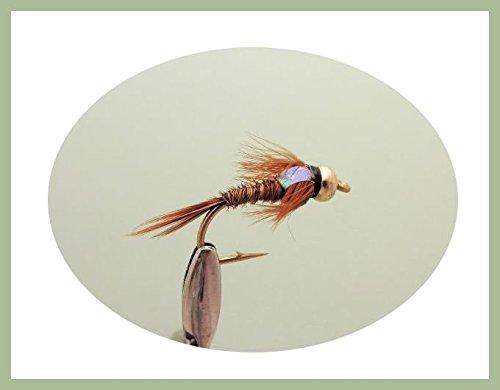 confezione-di-12-mosche-da-pesca-di-tipo-ninfa-flash-head-con-perlina-dorata-in-testa-e-forma-a-coda