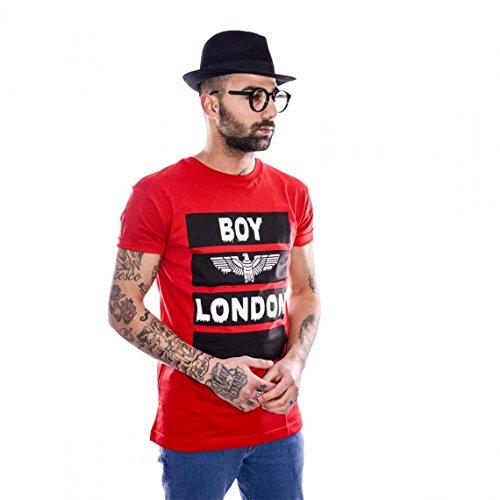 BOY LONDON T-SHIRT BL697 PRIMAVERA-ESTATE 2017 Bianco