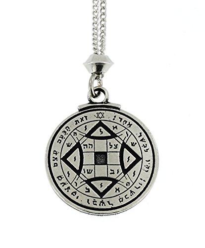 hecho-a-mano-de-amor-magico-de-estano-tetragrammaton-preceptoria-talisman-energia-colgante-de-cadena