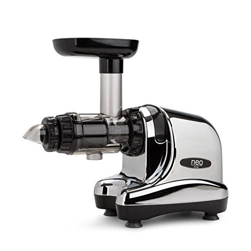 Extracteur de jus Oscar Neo DA 1000 - Slow juicer, extraction lente à froid - couleur chrome