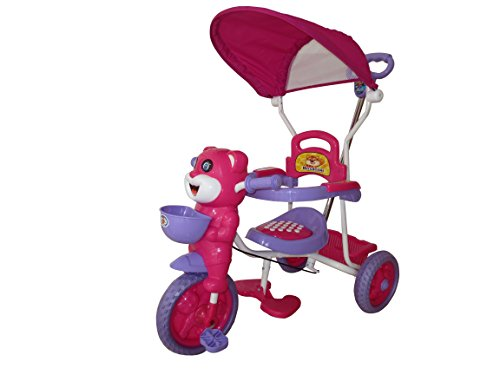 HLX-NMC HAPPY TIGER KIDS ROCKING TRICYCLE - PINK/PURPLE (EASY ASSEMBLY EDITION)  available at amazon for Rs.2550