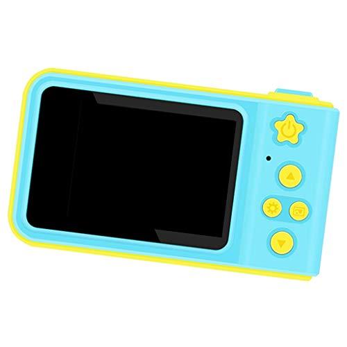 KESOTO Kompakt Kinder Spielzeug-Videokamera Mini-Digitalkamera für Indoor Outdoor, Einfaches Knopf Design und Unterstützung für mehrere Sprachen - Blau -