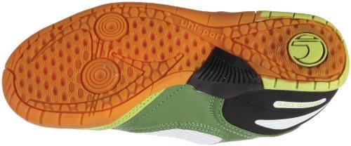 uhlsport Toro Funk Jr. 100826502, Scarpe sportive ragazzo Verde (Grün/Flashgrün/Grün/Weiß)