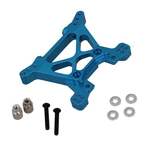 WEONE Blu RC 01:10 Upgarde lega di alluminio ammortizzatori anteriori Torre serrande Piastra SLA009 4 x 4 pezzi di ricambio