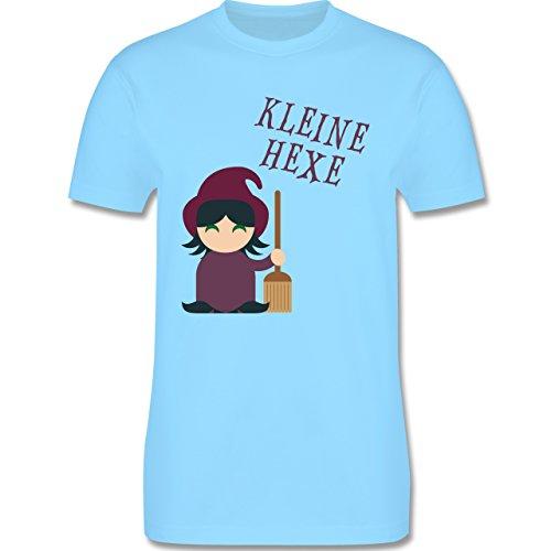 Halloween - Kleine Hexe süß - Herren Premium T-Shirt Hellblau