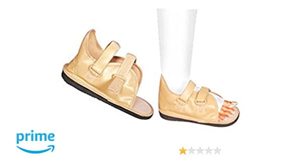 066c59c15c Buy Cast Shoe Closed Toe Medical Surgical Shoe Cast Boot Orthopedic Boot  (Large) Online at Low Prices in India - Amazon.in