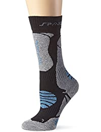 Spaio Calcetines Kids Thermolite Junior, negro/gris/azul, 31-33