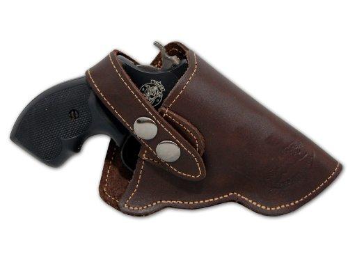 Barsony Holsters & Belts Größe 3 Charter Arme Ruger S&W Taurus rechte Seite Braun Leder Gürtelholster