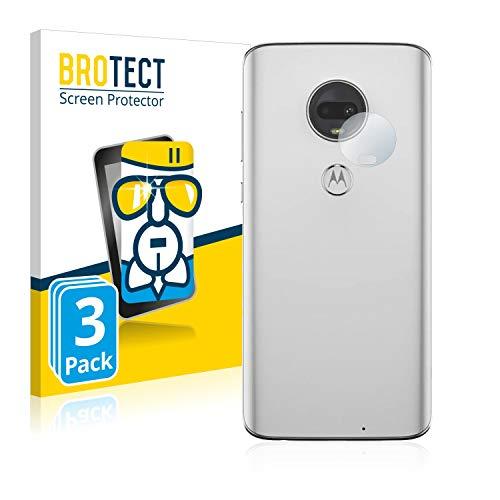 BROTECT Panzerglas Schutzfolie kompatibel mit Motorola Moto G7 Plus (Kamera auf der Rückseite) [3er Pack] - Flexibles Airglass, 9H Härte