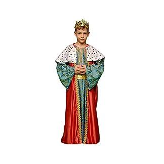 Disfraz de Rey Mago Rojo para niños