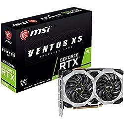 MSI RTX2060 Ventus XS V375-035R Carte Graphique GeForce RTX 2060 6 Go GDDR6 - Cartes Graphiques (GeForce RTX 2060, 6 Go, GDDR6, 192 bit, 7680 x 4320 Pixels, PCI Express x16 3.0)