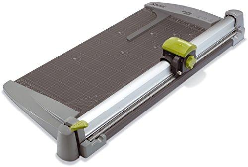 Rexel A535PRO - Cortadora de papel 3 en 1 (A2), color gris
