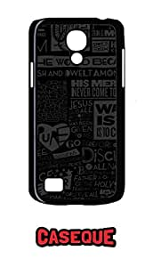 Caseque Now Is The Day Of Rising Up Back Shell Case Cover For Samsung Galaxy S4 Mini