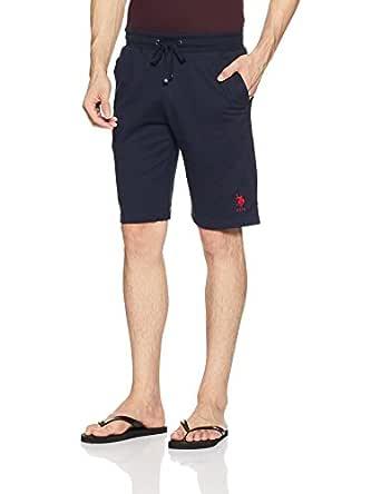 US Polo Association Men's Cotton Lounge Shorts