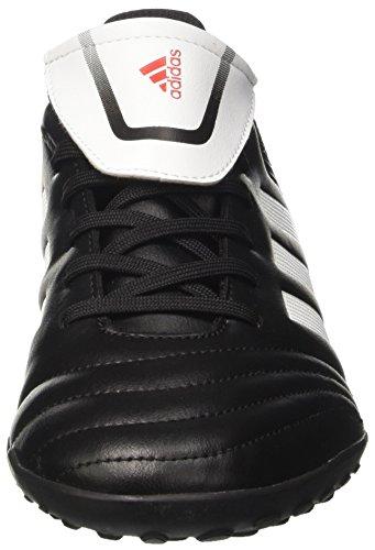 adidas Copa 74 Tf, Scarpe da Calcio Uomo Nero (Nero/Bianco/Nero)