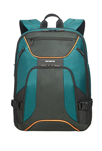 SAMSONITE Kleur - Backpack for 15.6' Laptop 0.8 KG Zaino Casual, 44 cm, 18 liters, Verde (Green/Dark Green)