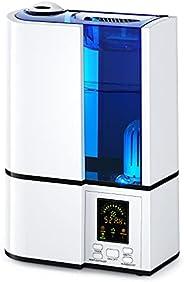 اجهزة تعديل رطوبة بالموجات فوق الصوتية بسعة 4 لتر وزمن استخدام 30 ساعة مع تشغيل صامت وشاشة عرض LED مع منظم رطو