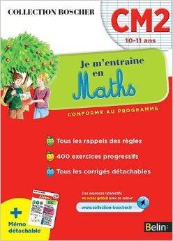 Boscher Maths CM2 de Christine Cuttoli,Véronique Schwab ( 1 août 2012 )