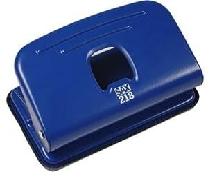 SAX Perforateur Sax Century 218 - pour 12 feuilles, bleu