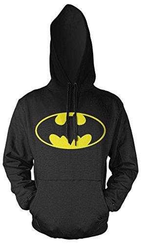 Hood Robin Kostüm Black - Batman Männer und Herren Kapuzenpullover | Comic Joker Vintage Geschenk | M1 (4XL, Schwarz)
