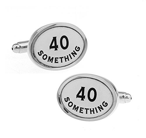 (Ashton & Finch 40 etwas Manschettenknöpfe. Neuheit. Geburtstag. Thema Schmuck)