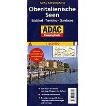 ADAC Campingkarte Oberitalienische Seen (Camping und Caravaning)