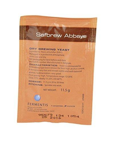 Preisvergleich Produktbild Safbrew Abbaye Yeast 11.5g by Fermentis