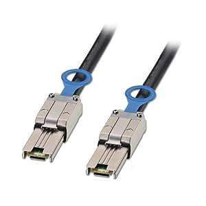 Lindy 33642 Câble externe Multilane SATA & SAS SFF-8088 vers SFF-8088 2 m