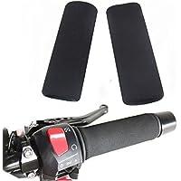 Strada 7 Moto Schiuma Comodo Grip anti vibrazioni Coperture per Kawasaki ZX 6 RR ZX-7R Ninja