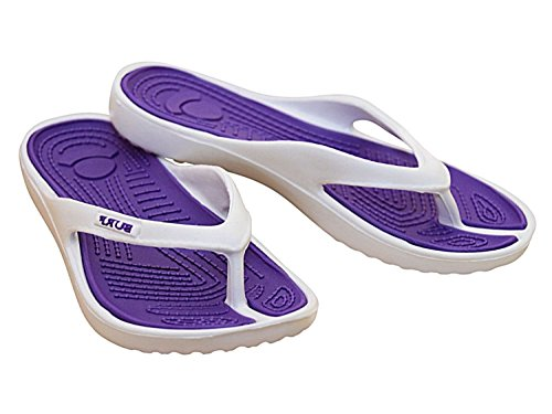 Foster Footwear - Sandali  Unisex per bambini Unisex adulti donna da ragazza' Purple