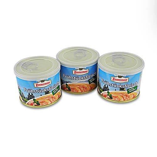 Delikatess Frühstücksfleisch von Zimmermann 3er Pack (3 Dosen à 200 g)